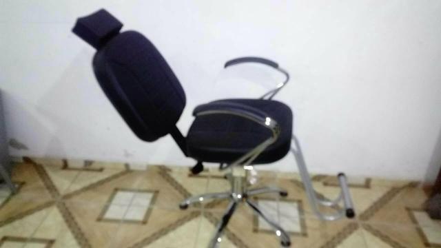 Cadeira P/Salão Luxo