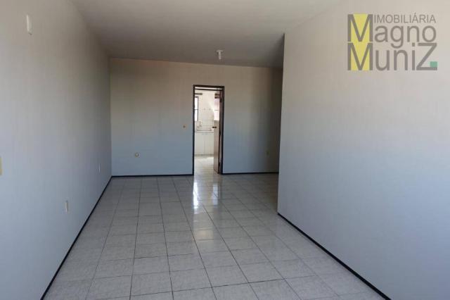 Apartamento com 3 dormitórios para alugar, 114 m² por r$ 800,00/mês - fátima - fortaleza/c - Foto 3