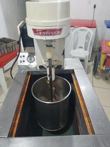 Máquina de de fazer sorvete (de massa) e picoleteira - Foto 5