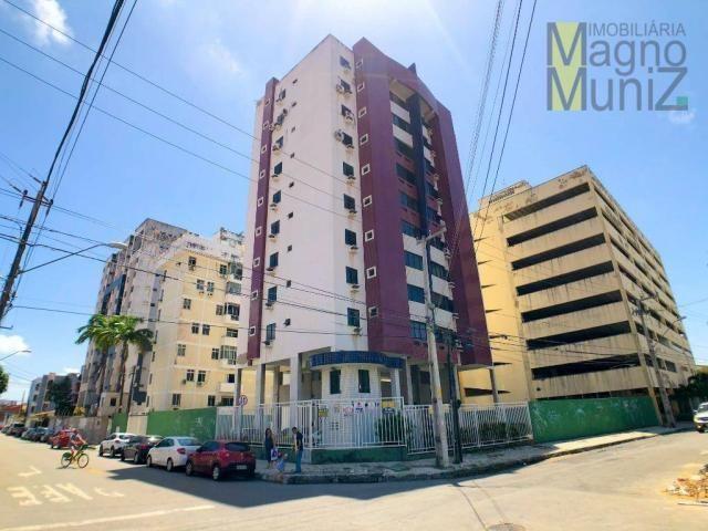Apartamento com 3 dormitórios para alugar por r$ 500,00/mês - papicu - fortaleza/ce