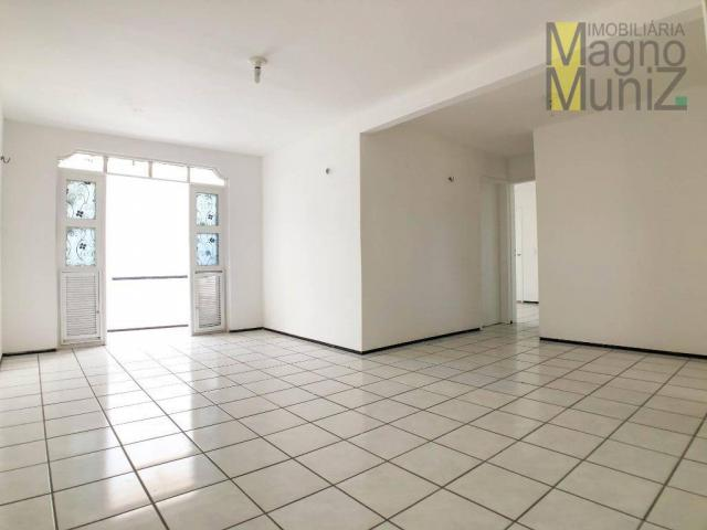 Apartamento com 3 dormitórios para alugar, 80 m² por r$ 1.000,00/mês - varjota - fortaleza