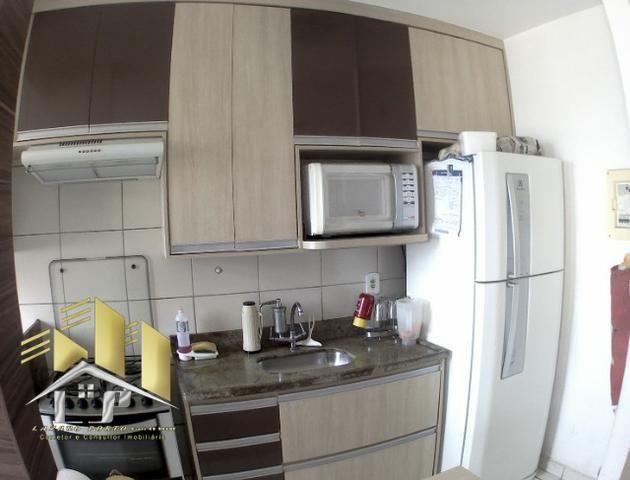 Laz - Alugo apartamento com varanda 2Q sendo uma suite condomínio com lazer completo - Foto 3