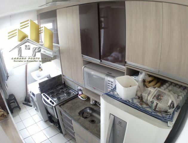 Laz - Alugo apartamento com varanda 2Q sendo uma suite condomínio com lazer completo - Foto 5