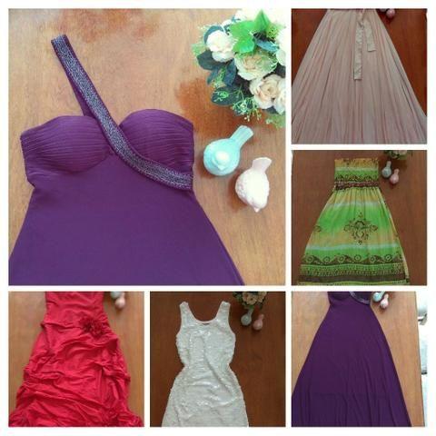 Vestidos de festa, R$150,00 cada