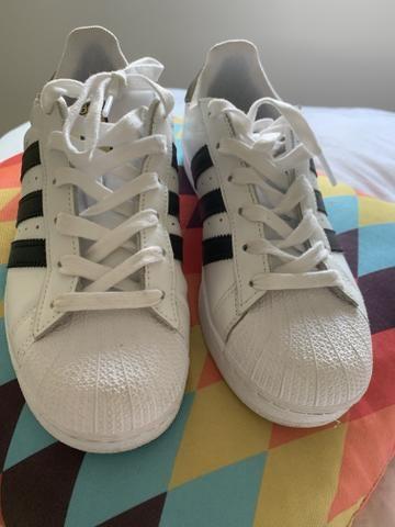 bafe8554728 Tennis Adidas Superstar novo - Roupas e calçados - Alphaville Ind ...