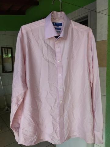 838df983a Camisa Ml Fio Tinto Maquinetada   Nova e Original - Roupas e ...