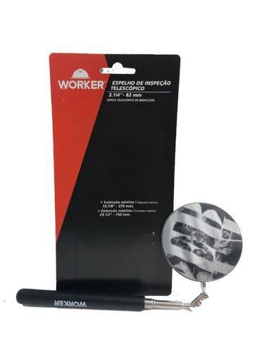 Espelho Telescópico De Inspeção 3.1/4 -82mm Worker - Foto 2