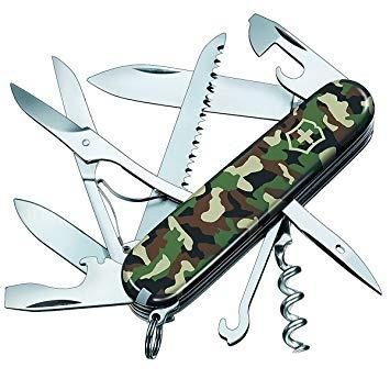 Canivete Suiço Victorinox Huntsman Camouflage Verde 15 funç Novo original - Foto 5