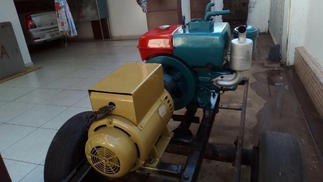 Gerador trifásico 6kva diesel yanmar