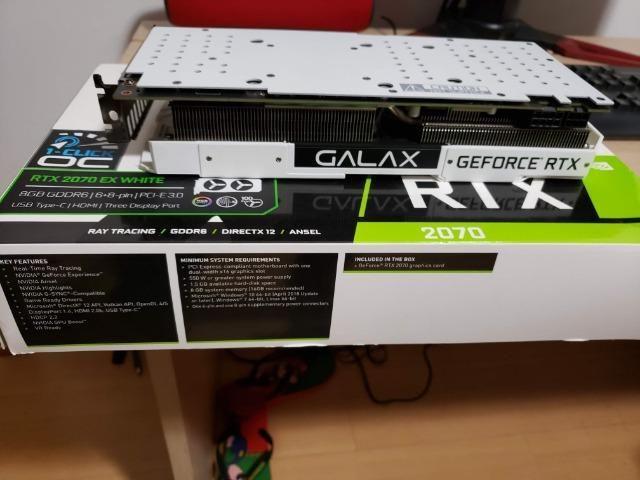 Nvidia RTX 2070 OC Galax White