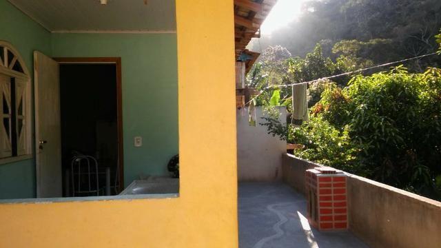 Vendo ou troco casa nas montanha mobilhada garagem rio posmozer santa maria 2 km centro - Foto 11
