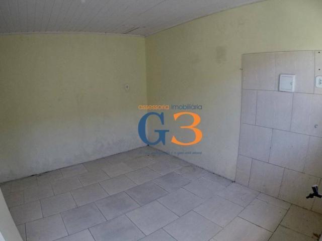 Casa com 1 dormitório para alugar, 30 m² por R$ 450/mês - Centro - Rio Grande/RS - Foto 2