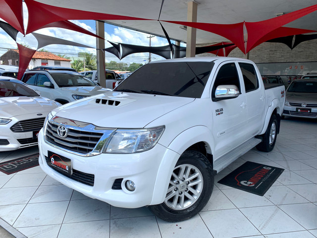 Hilux SRV 2015 3.0 DIESEL BLINDADA * UNICO DONO * ( gmustang veiculos )