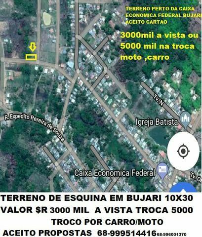 Bujari 3mil reais