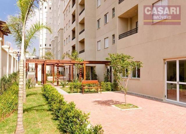 Apartamento com 2 dormitórios à venda, 54 m² - centro - são bernardo do campo/sp - Foto 13