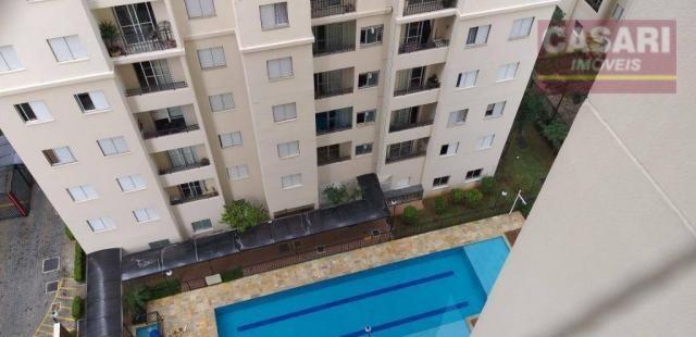 Apartamento com 2 dormitórios à venda, 54 m² - centro - são bernardo do campo/sp - Foto 8