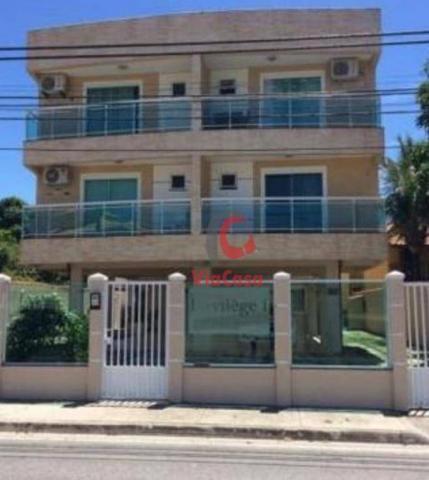 Apartamento com 4 dormitórios à venda, 124 m² por R$ 790.000,00 - Costazul - Rio das Ostra