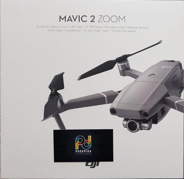Drone Dji Mavic 2 Zoom Homologado Pela Anatel Com 1 Ano de Garantia