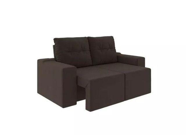 Sofa retratil e reclinavel Moscow AG256 - Foto 3