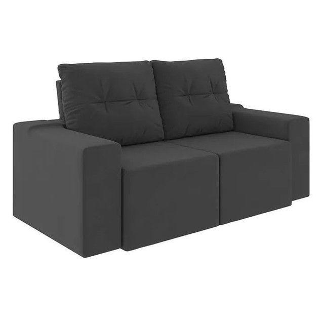 Sofa retratil e reclinavel Moscow AG256 - Foto 2