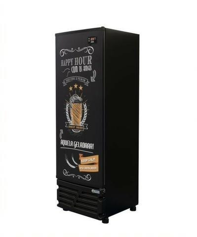 Freezer cervejeira Imbera 454 L porta de aço ou vidro Nova Frete Grátis - Foto 2