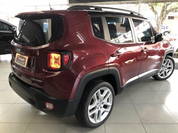 Jeep Renegade Limited 1.8 4x2 Flex Aut.2019 28200km - Foto 8