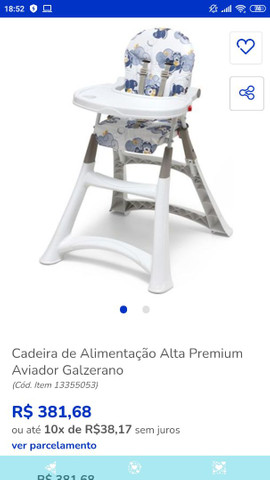 Cadeirão Burigotto Premium  - Foto 6