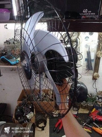 Ventilador tufão parede 60 cm,com motor de cobre  - Foto 3