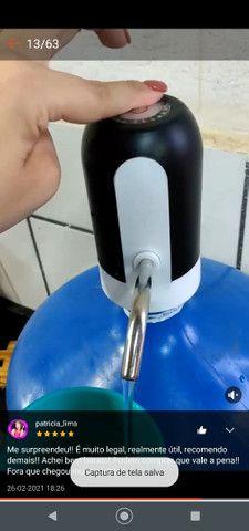 Bomba elétrica recarregável galão de água - Foto 3