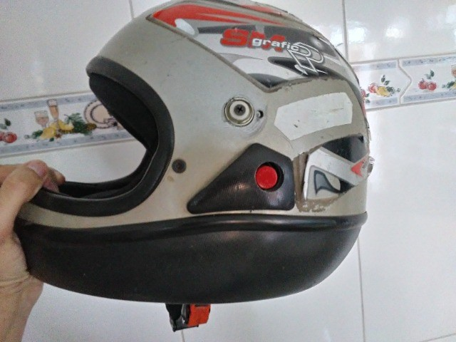 Vendo capacete sam marino - Foto 7