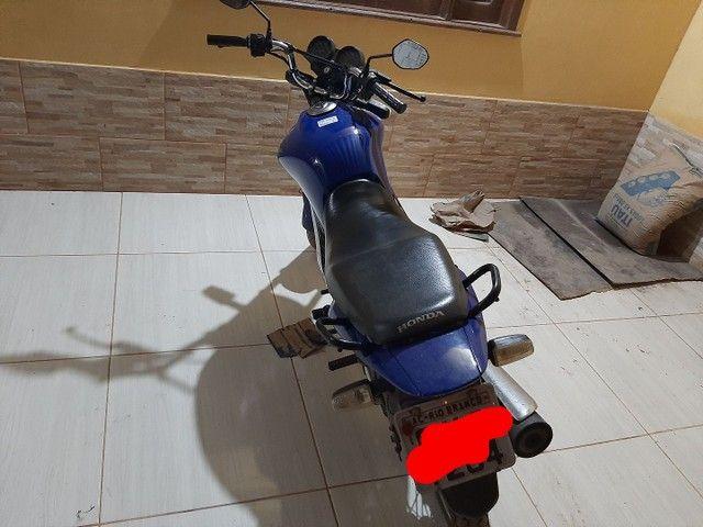 Troco essa moto fan 125. 2012-2013