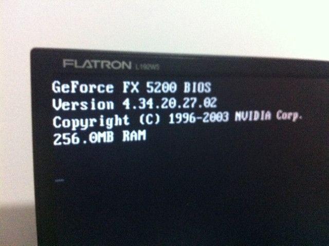 Usado - Placa de video Geforce FX 5200 256mb - Foto 3