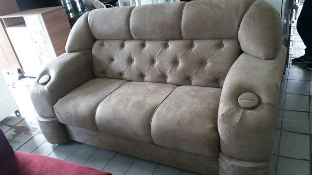 Conjunto de sofá em capitonê ,12x152,90
