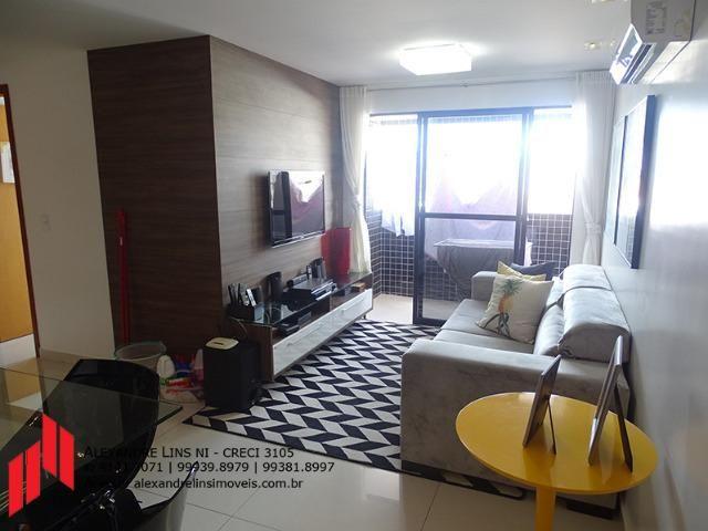 Excelente Apartamento Nascente com 3/4, 2 vagas em Mangabeiras
