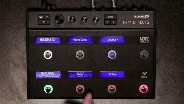 Line 6 HX Effects Guitar Multi-Effects Floor Processor Novo Loja! - Foto 3