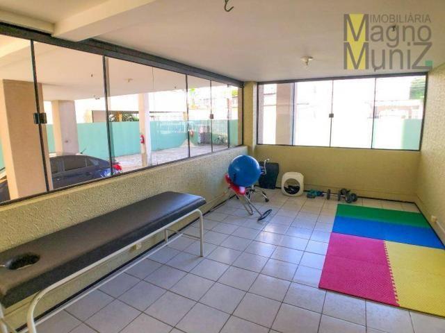 Apartamento com 3 dormitórios para alugar por r$ 500,00/mês - papicu - fortaleza/ce - Foto 4