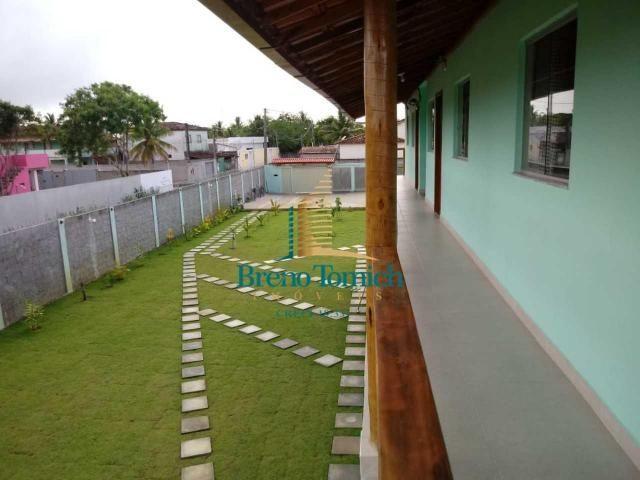 Pousada com 6 dormitórios à venda, 413 m² por r$ 799.000 - coroa vermelha - porto seguro/b - Foto 10