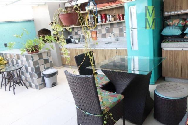 Casa duplex com 3 suítes projetadas para alugar, 140 m² por r$ 5.500/mês - praia do futuro - Foto 19