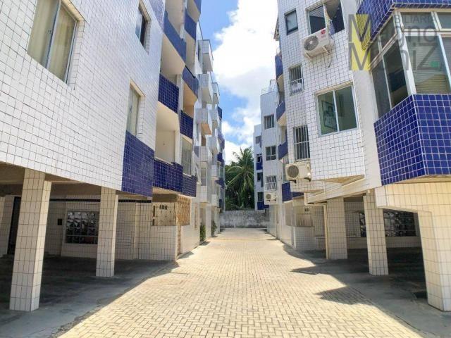 Apartamento com 3 dormitórios para alugar, 80 m² por r$ 1.000,00/mês - varjota - fortaleza - Foto 16