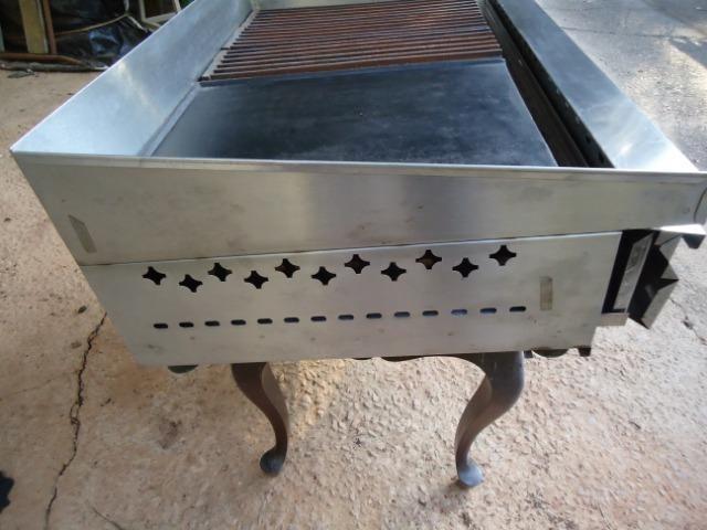 Char broiler Tedesco - grill - chapa - 04 queimadores - Foto 5
