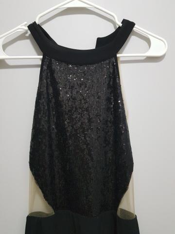 Vestido longo Carmin preto