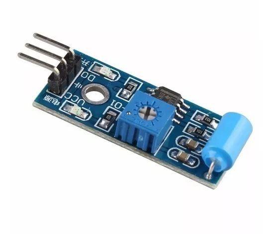 COD-AM58 Módulo Sensor De Vibração Arduino Tilt Sw-420 Pic Arm - Automação - Foto 3