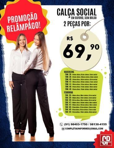 3eb3317c4 Promoçao relâmpago - calça social - Roupas e calçados - Umarizal ...