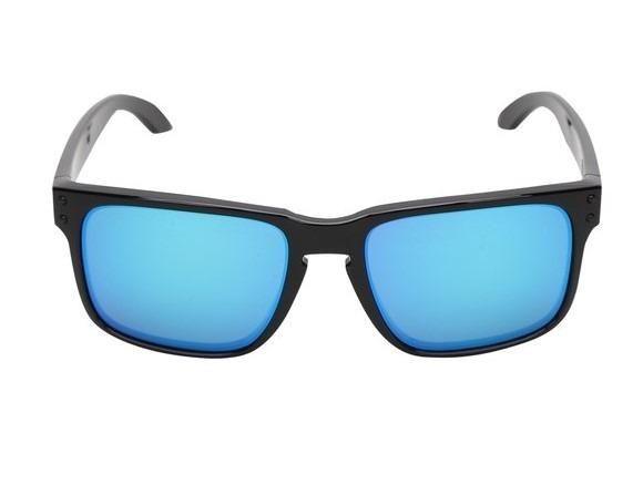 d8e0c31f53846 Óculos de Sol Oakley Holbrook Prizm Tartaruga Masculino - Preto e Azul