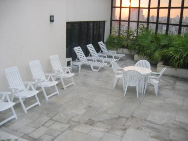 Flat no jardins para venda, 1 quarto, 1 garagem - Foto 7
