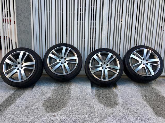 Rodas aro 18 com pneus novos! - Foto 5