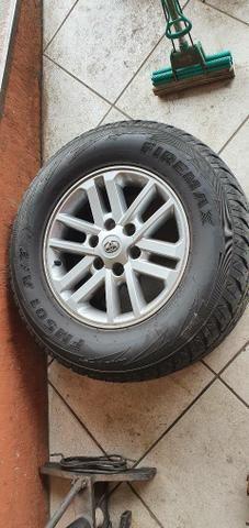 Rodas para Toyota com pneus , 70% - Foto 2
