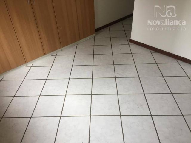Apartamento com 3 quartos para alugar, 110 m² por R$ 1.200/mês - Praia da Costa - Vila Vel - Foto 9