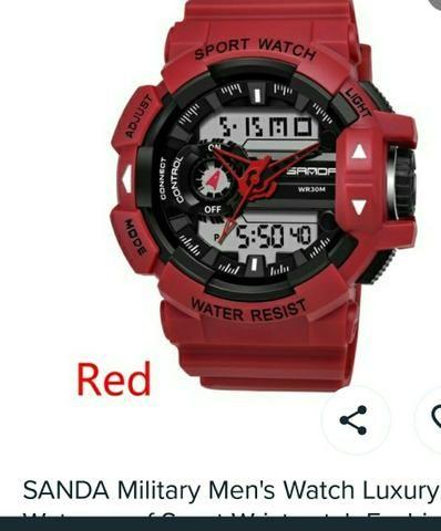 Relógio - marca Sanda - Foto 2