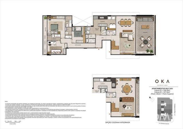 Cobertura com 4 dormitórios à venda, 337 m² por R$ 8.848.000,00 - Lagoa - Rio de Janeiro/R - Foto 2